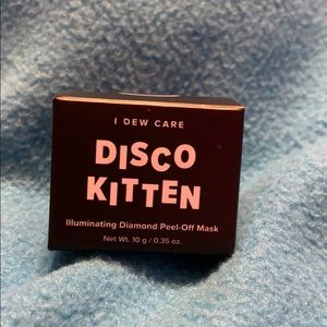 Disco Kitten Face Mask